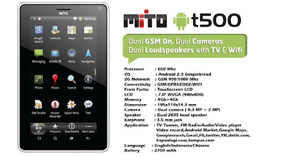 Tablet Mito T500