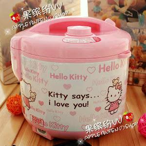 Rice cooker hello kitty