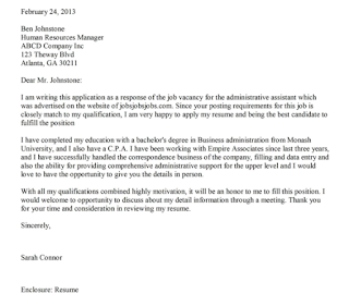 job application letter 9