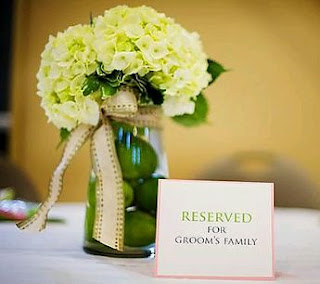 Weddings, Centerpieces and Flower Arrangements with Fruits