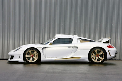 porsche-carrera-gt-mirage-gt-white-gold-edition-side