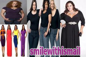 cara memilih pakaian untuk wanita gemuk