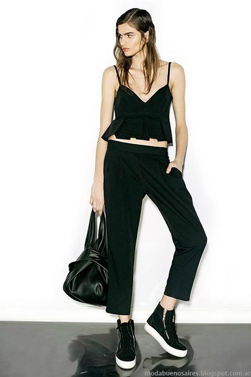 Nous primavera verano 2015, tops moda verano 2015.