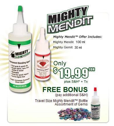 Mighty Mend It Lem Kain Belicantik
