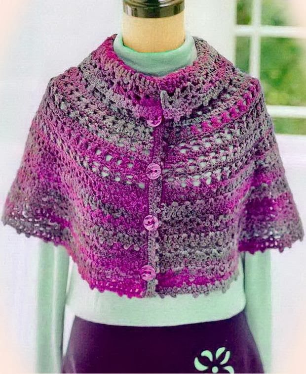 Free Crochet Patterns For Ladies Capes : Crochet Shawls