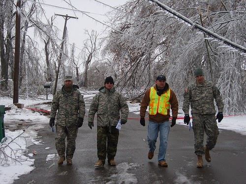Members of the Missouri National Guard. (Photo by The National Guard)