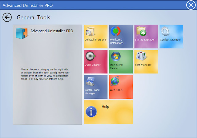 Advanced Uninstaller Pro 11.17 - Interface