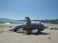 Amigurumi de delfín a ganchillo o crochet