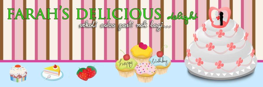 Farah's Delicious Delight
