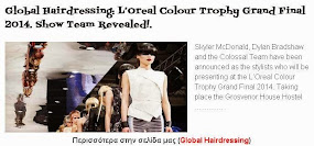 L'Oreal Colour Trophy Grand Final 2014. Show Team Revealed!.