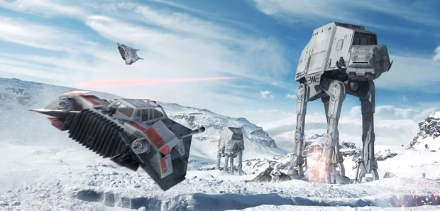 Star Wars Battlefront Multiplayer Gameplay Trailer E3 2015