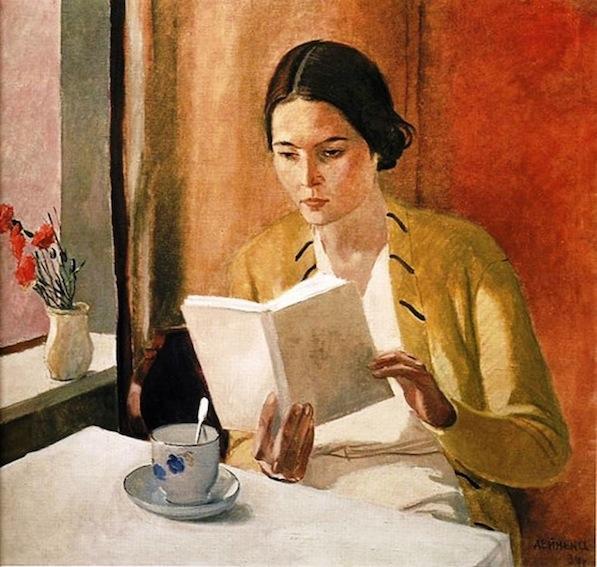 Alexander Deineka. Mujer leyendo, 1934