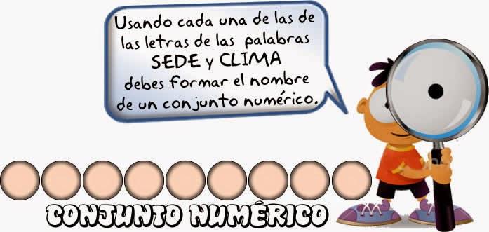 Reto matemático, Desafío matemático, Problema matemático, Decimales, Descubre el número, Problemas para pensar, Anagrama