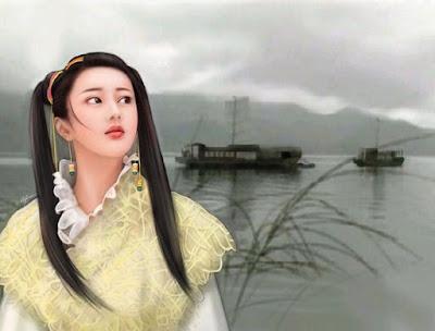 Rostros Mujeres Asiaticas Imagenes Pintura Digital