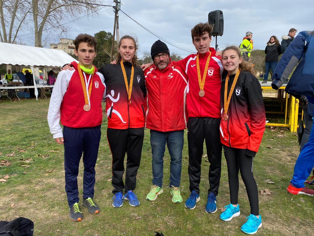Bronze Campionat de Catalunya de Relleus Mixte