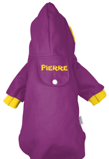 Purple and gold PrideBites hoodie