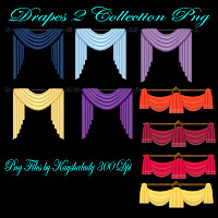 Drapes 2 collection PNG Tubes