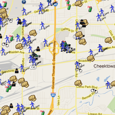SpotCrime has multiple crime maps in the Buffalo, NY area ... on