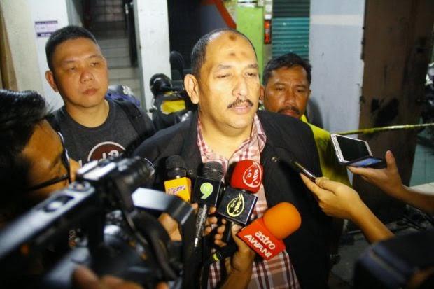 Polis Tahan Atendan Hospital Pelajar Sekolah Bawa Parang
