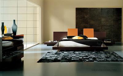 dormitorio estilo japonés