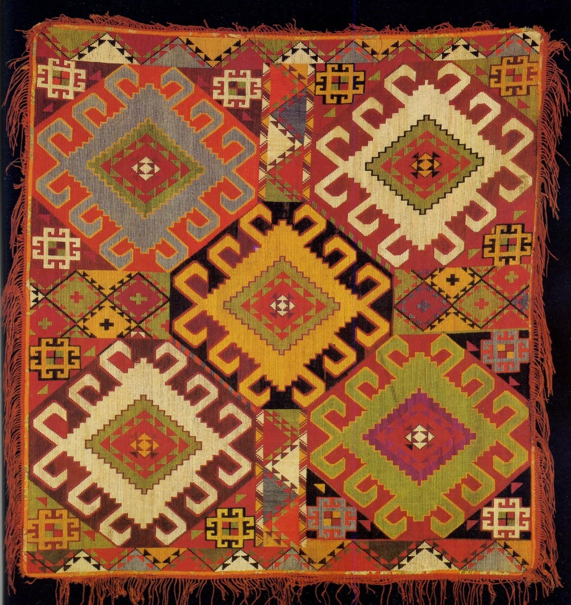 Local Style Traditional Embroidery Of The Republics Of Central Asia