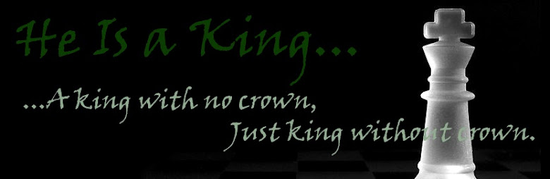 He Is a King