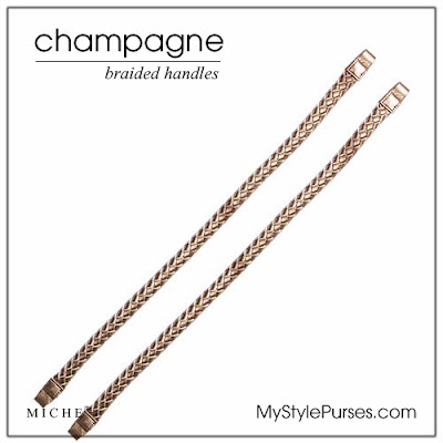 Miche Champagne Rope Braided Handles