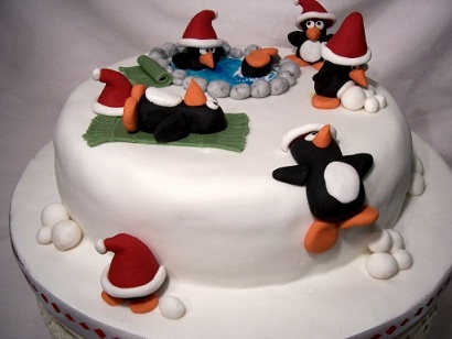 christmas cakes decorations ideas pictures
