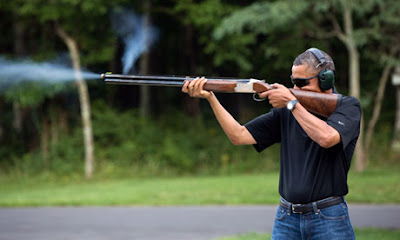 Barack Obama shooting