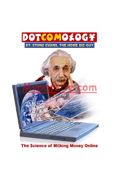 Dotcomology By Stone Evans