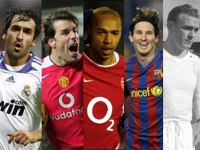 `Top 10´ los máximos goleadores de la Champions