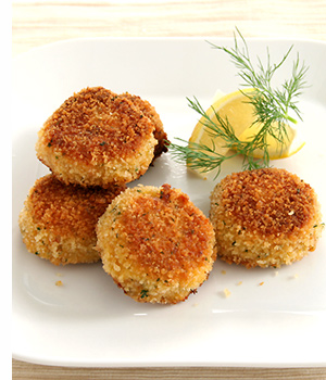 Mini Crab Cakes With Dijon And Scallions Recipe — Dishmaps
