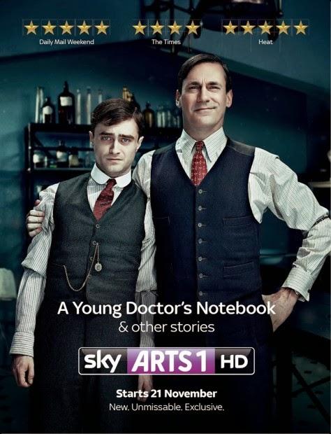 Diários de um Jovem Médico Daniel Radcliffe e Jon Hamm