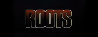 Crédito inicial de la serie de 1977, Roots, raíces