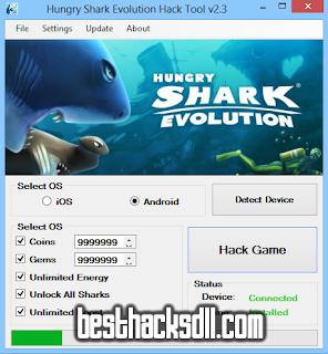 Shark Evolution cash hack, Hungry Shark Evolution gems hack, Hungry Shark Evolution money hack