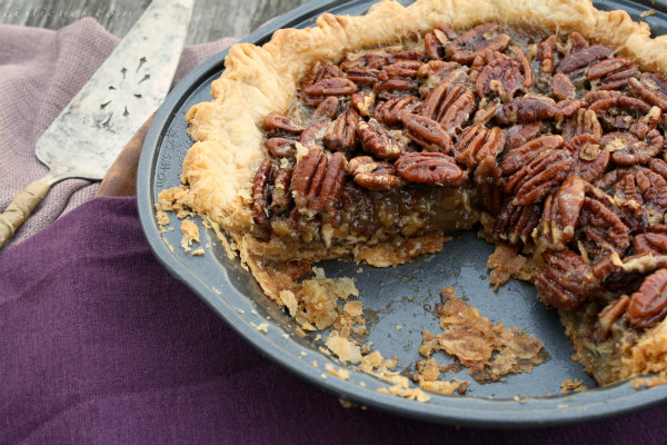 Spiced Maple Pecan Pie w/ Star Anise - All Roads Lead to ...