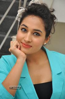 Actress-Pooja-Ramachandran-Stills-at-Adavi-Kachina-Vennela-Digital-Poster-Launch