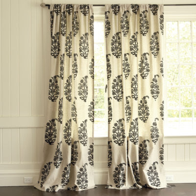 Curtains Ideas black and white panel curtains : Black And White Panel Curtains - Rooms