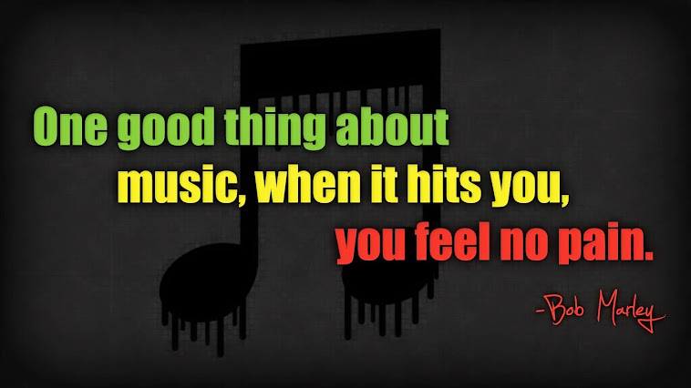 One good thing about music...