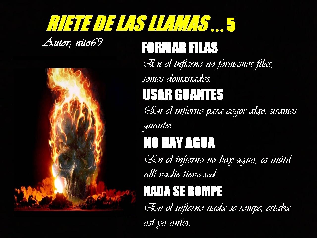 RIETE DE LAS LLAMAS…5