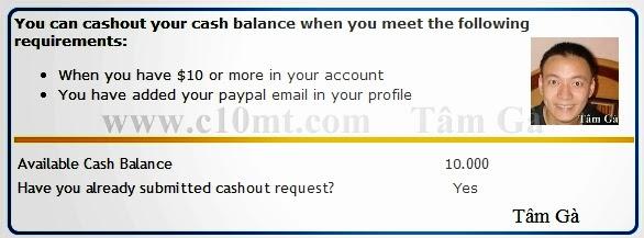 cashout your balance 247autohits
