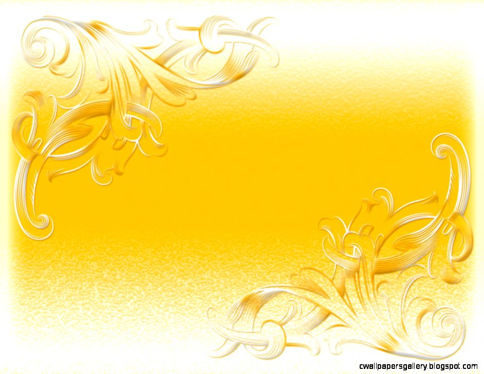 Free Yellow Flower Frame Backgrounds For PowerPoint   Border and