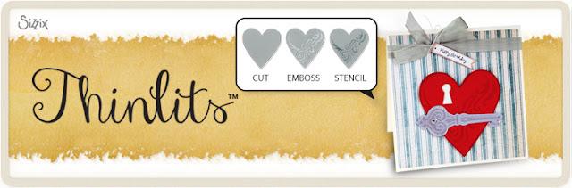 thinlits die cut emboss stencil