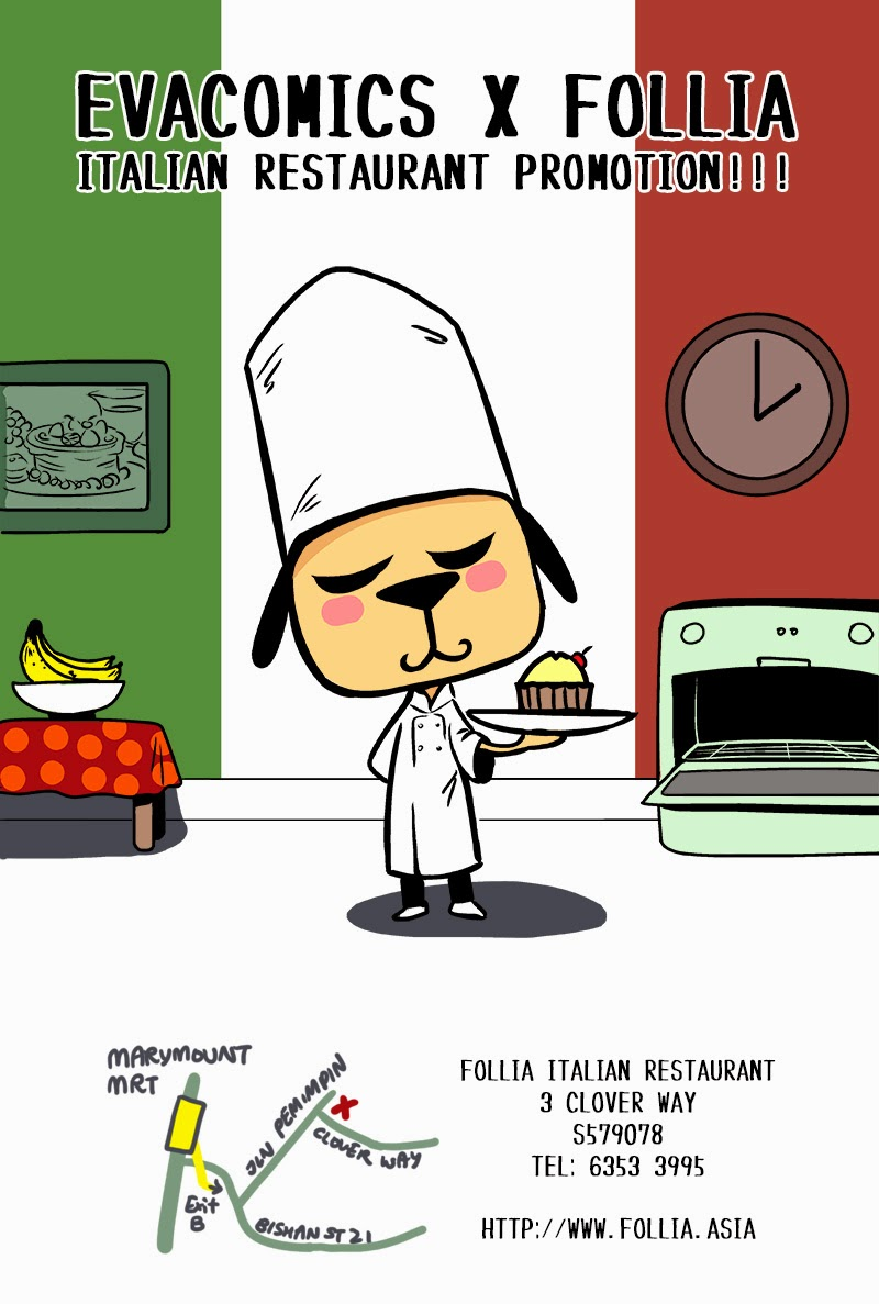 Follia Italian Restaurant evacomics review