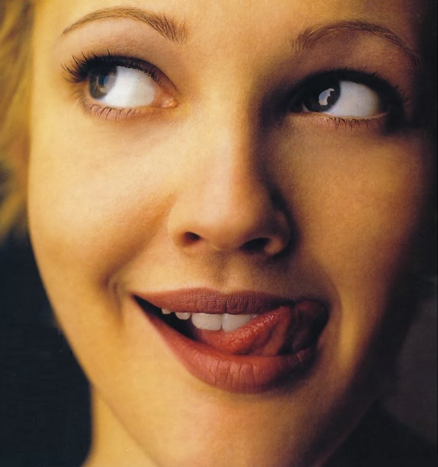 Drew Barrymore Licking Gif - Ann Pornostar