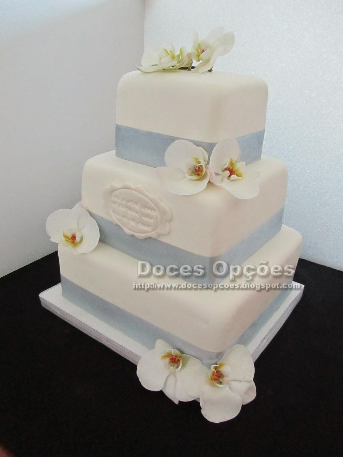 bolo decorado Bodas de Ouro