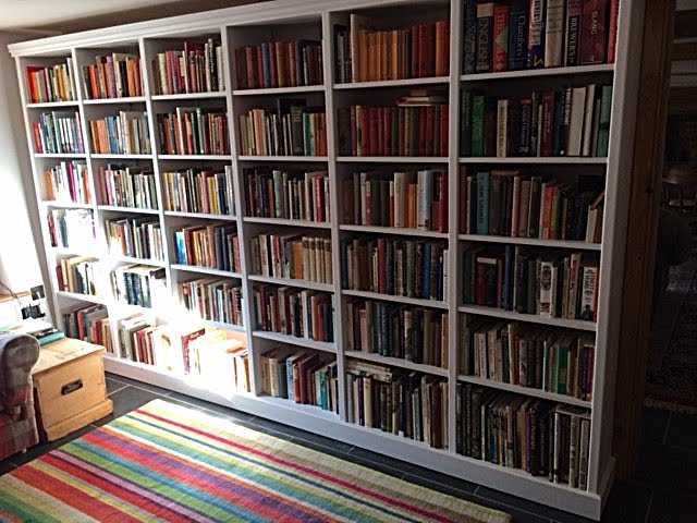 bookshelves April 2019