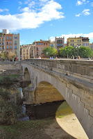 Pont de Pedra. Girona. Monuments.