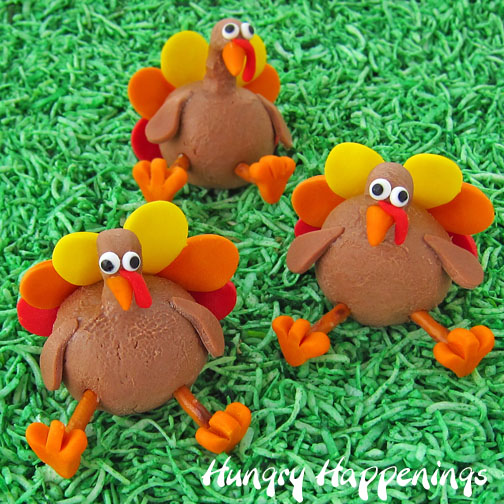 Turkey treats and craft ideas for Thanksgiving activities for adults
