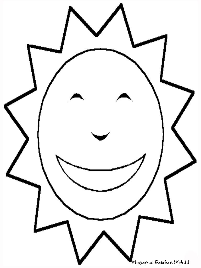 Image Result For Gambar Mewarnai Bunga Matahari